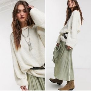 FREE PEOPLE Angelic Pullover sweater NWT! Sz S!!